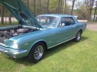 Classic 66 Mustang