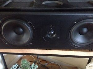 Home audio centre channel speakers