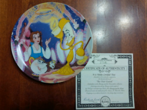 Disney Beauty and the Beast Collector Plates