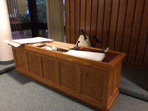COUNCIL CHAMBER SET UP London Ontario image 4