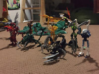 Assorted Bionicles