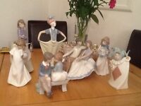 7 Assorted NAO ornaments