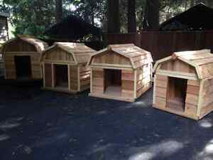 Dog houses insulated 3x4  3.5x4  4x5  4x6 Barn Style