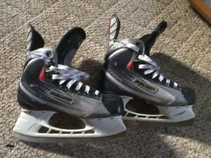 Various hockey skates