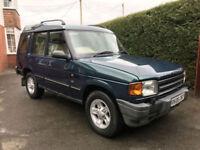 1998 R Land Rover Discovery 300tdi - 50th Anniversary model - Rare