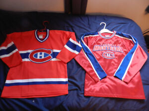 Canadiens Sweaters 10-12 Boys