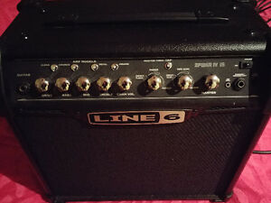 Amplificateur Line 6 Spider 15 watts.