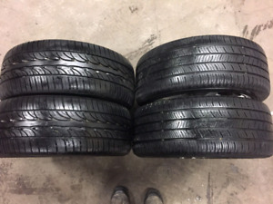 Set of 2&2 tires 245/40/17 with AUDI rims