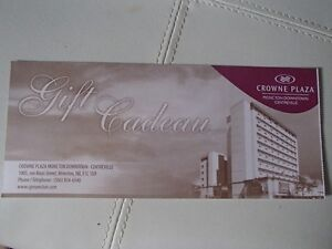CROWNE PLAZA ONE NIGHT STAY--MONCTON
