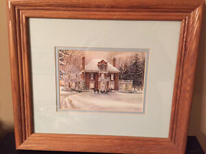 Set of 3 Trisha Romance Prints - Great for Cottage