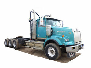 2012 WESTERN STAR 4900SA TRI DRIVE DAYCAB Cash/ trade/ lease to