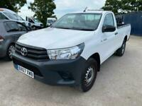 2017 67REG TOYOTA HILUX SINGLE CAB 150 Active 3.2t AIR CON FINANCE AVAILABLE