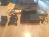 Xbox One w/ Kinect, 2 controllers, headset and 4 games