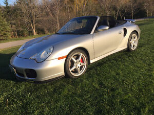 2004 Porsche Twin Turbo Convertible 4-wheel drive
