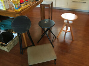 STOOLS, $5/each—MOVING SALE