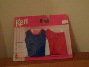 Ancien Linge Neuf 1996 Ken / Ami de Barbie Vintage Fashion New
