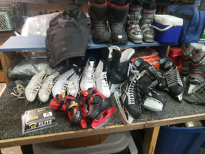 Kids and Adult Skates Various Styles and Sizes