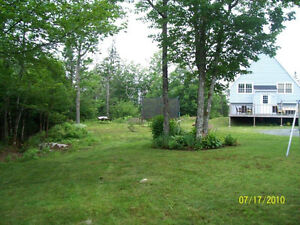 home for rent private lot porters lake
