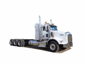 2012 KENWORTH T800 TRI DRIVE CAB AND CHASSIS Cash/ trade/ lease