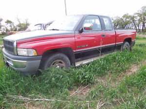 1995 Dodge Ram 1500 Extended Cab 2 wheel drive