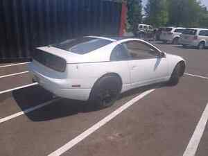 Rare LEFT hand drive, MANUAL, WHITE, Nissan 300zx 2 seater