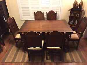 Handcrafted Dining Table and Cabinet Peterborough Peterborough Area image 3