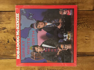 BOB and DOUG MCKENZIE's Great White North record album vinyl