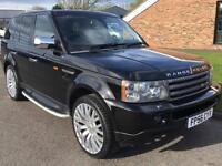 2006 56 Range Rover Sport 2.7 TD V6 HSE Sport Black Diesel SOLD