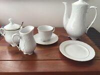 Full coffee / tea set for 12