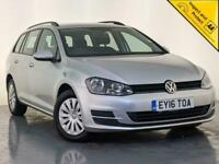 2016 VOLKSWAGEN GOLF S TDI AIR CONDITIONING £20 ROAD TAX 1 OWNER SERVICE HISTORY