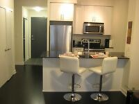 SUMMER SPECIAL IN A 1YR OLD CONDO-FURNISHED 1 PLUS DEN