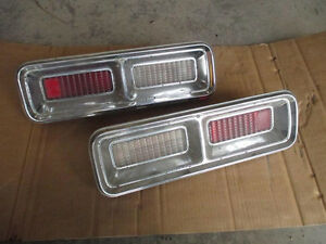 454 BBC chevy parts,68 Camaro tail lights