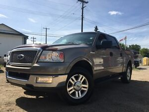 2004 Ford F-150 LARIAT = CREW CAB = LEATHER - CLEAN CAR PROOF