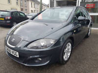 2011MY Seat Leon 1.6 TDI CR 105ps Ecomotive SE * Only 61k * Full Seat S/History