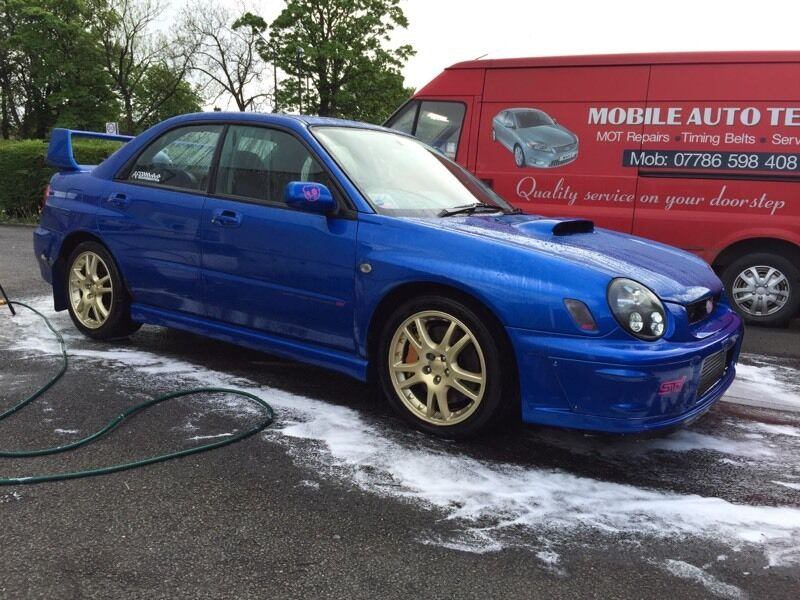 subaru impreza wrx sti 2002 bugeye in tullibody clackmannanshire gumtree. Black Bedroom Furniture Sets. Home Design Ideas