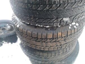 Winter tires 215/65/16