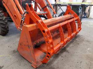 Small Tractor Accessories, Grapples & Cutting Edges