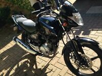 2015 Yamaha ybr 125 (with spare unused front tyre)