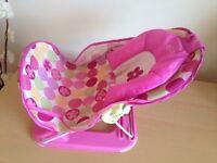 Bath chair & baby swim suits
