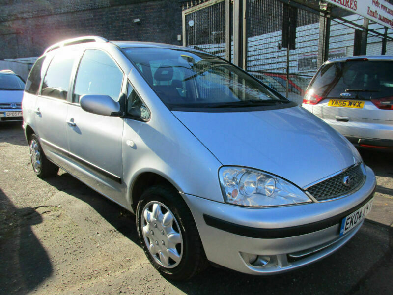 2004 04 FORD GALAXY 1.9TDDI GHIA 130 BHP ~ CAPTAIN LEATHER SEATS~ MOT NOV. 2019, used for sale  Small Heath, Birmingham