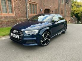 image for 2019 Audi A3 35 TFSI Black Edition 4dr S Tronic SALOON Petrol Automatic