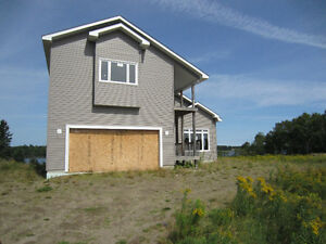 **Price reduce** Richibucto River Waterfront New Construction!!