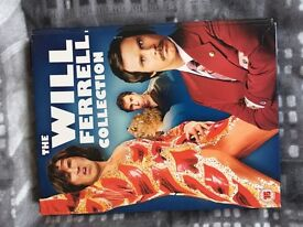 Will Farrell DVD collection.
