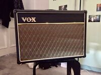 VOX AC15CC1 tube amp speaker upgraded to Eminence Red Fang