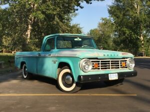 1966 D100 Dodge Sweptline