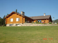 Hand Crafted Log Home On Acreage - Armstrong