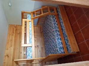 3 mattress bunk bed
