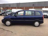 Vauxhall Zafira 1.6i 16v Life 7 SEATER - 2004 04-REG - 9 MONTHS MOT