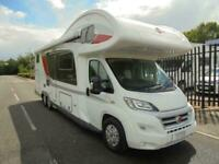 Burstner Argos 747-2G 6/7 berth large rear garage & fixed bed motorhome for sale
