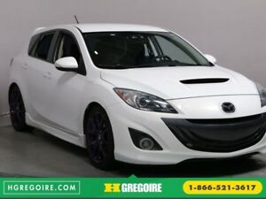 2012 Mazda 3 Mazdaspeed3 MAN BLUETOOTH CUIR GR ELECTRIQUE MAGS